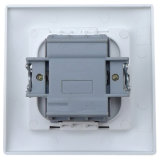 Elendax 250V 16A 2 pista 1 vias do interruptor de alimentação da luz de parede (F1002)