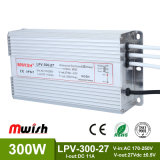 300W DC27 IP67 Ledpower Zubehör-Fahrer (MWISH LPV-300-27)