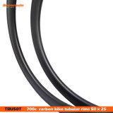 7-Tiger 50 mm формы клинчера u оправы 700c велосипеда углерода дороги трубчатой
