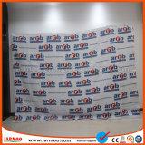 Jarmoo подгоняло логос напечатанная, котор торговая выставка хлопает вверх индикация стены