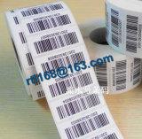 Etichetta adesiva, contrassegni dell'autoadesivo del codice a barre