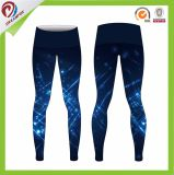 Calças de licra mulheres calças desportivas calças de ioga por sublimação de tinta personalizada