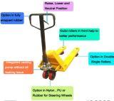 Управляемые рукой гидровлические тележки паллета с емкостью 2t, 3t и 5t