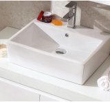 Het hete Verkopende Moderne Kabinet van de Badkamers van de Lak Zwarte Houten (ACS1-L64)