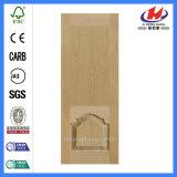 Нутряная панель двери Veneer MDF Laminate отлитая в форму HDF Brich (JHK-008-2)