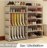 Equipamento para Engraxar os Sapatos de armário de racks de grande capacidade de armazenamento de dados móveis domésticos DIY Rack Sapata portátil simples (FS-06R)