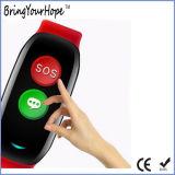 연장자 (XH-ESB-003)를 위한 심박수 감시 GPS Sos 지능적인 팔찌