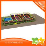 Combinação de equipamentos de Diversões multifuncional trampolim para venda