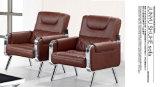 Insiemi popolari del sofà del cuoio dell'ufficio di stile di vendite calde nuovi che attendono sofà con il blocco per grafici 631#. del metallo