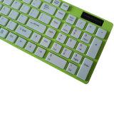 細い無線普及したコンピュータのキーボード