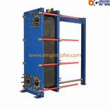 Placa del uso de las depuradoras de aguas residuales y cambiador de calor del marco