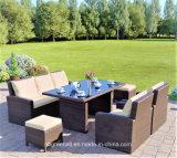 2018 Новая конструкция удобной плетеной/удобный диван для использования вне помещений Садовая мебель