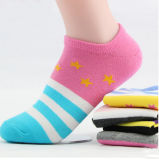 La cheville de femmes de mode cogne les femmes en bloc de chaussettes de vente en gros de prix de gros