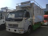 Schnellimbiss-Küche des Hotdog-4X2 5 Tonnen Rad-auf Mahlzeit-LKW