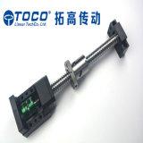 CNC 기계를 위한 공 나사 견과를 가진 주문을 받아서 만들어진 공 나사