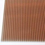 Folha de policarbonato oco de parede dupla para a construção Material de Construção