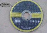 """Disco tagliente di taglio di alta durevolezza per il formato dell'acciaio inossidabile da 4 """" a 9 """""""