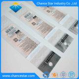 Transparenter OPP anhaftender Vorsatz-Plastikbeutel des kundenspezifischen Druck-