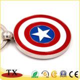 Koel Schild Keychain voor Amerikaanse Kapitein