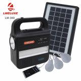 Luz de acampamento solar do diodo emissor de luz da energia nova
