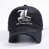 La alta calidad promocional barata del algodón del bordado se divierte el sombrero común del casquillo del béisbol