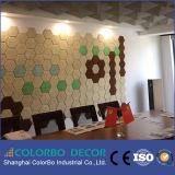 Copeaux de bois d'étoile de Sili - tuiles acoustiques micro décoratives intérieures