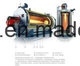 Führen neues heißes horizontales Feuer-Gefäß drei des Verkaufs-2017 nasse rückseitige Öl-Dampfkessel-Heizung