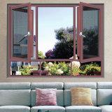Het Openslaand raam van de Dubbele Verglazing van Foshan met het Scherm van het Insect