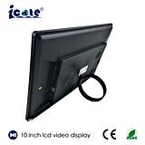 LCD TFT de 10 polegadas Moldura Fotográfica Vídeo WiFi Network Monitor de Publicidade