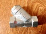 Tipo tamiz del filtro Y del borde de Wcb del acero de carbón del molde del estruendo