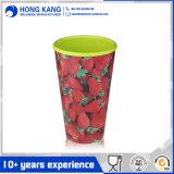 De aangepaste 12oz Mok van de Melamine van de Koffie Plastic met Handvat