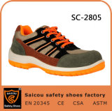 Конструкция ботинок Saicou дешево затавренная и отсутствие ботинки безопасности Sc-2805 шнурка