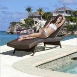 Кровать напольного отдыха гостиницы плавательного бассеина пляжа двора балкона лежа