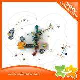 Дом перекоса Увеселительный Парк под открытым небом детей игрушки пластмассовые слайд для продажи