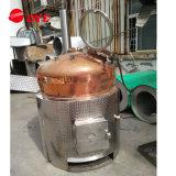 Matériel de distillation d'alcool d'incendie en bois pour faire le Grappa