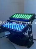 Impermeable al aire libre/120x10W RGBW City Light Led bañador de pared