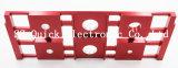 Алюминиевая система ЧПУ обрабатывающий красный цвет Anodizing лазерной маркировки продукции