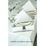 El restaurante del hotel al por mayor ropa de cama blanca de algodón Servilleta Tabla