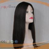 Parrucca di colore del nero dei capelli del Virgin dei capelli umani (PPG-l-01536)
