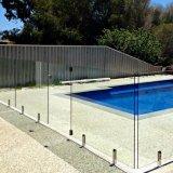 プールの塀のためのステンレス鋼の栓を終えるFramelessサテンかミラー