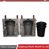 Пластичная мусорная корзина Trashcan впрыски поворачивает прессформу крышки крышки крышки