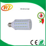 15W LED 옥수수 전구 온난한 백색