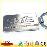 Chaîne principale de forme de promotion de cadeau en métal fait sur commande de la meilleure qualité ovale de logo