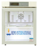 Мини-бар, холодильник с морозильной камерой стеклянные двери (HEPO-U50G)