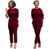 Heiße Art-Frauen-reizvolle Backless lange Overall-Form