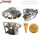 Usine faisant la machine de cône de biscuit de sucre de crême glacée