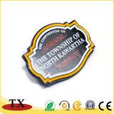 Regalo de recuerdo insignia de solapa de metal color Insignia de Oro de la policía