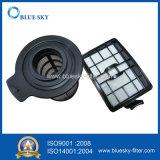 Pieza del filtro de color negro para el hogar y oficina aspiradora
