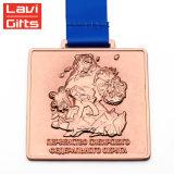 記念品メダルが付いている中国の製造業者OEMのカスタム銅の金属