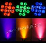 6 1 12*15W in den im Freien dünnen NENNWERT LED Lichtern